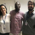 Visita do Prof. Aminou Mohamadou, da Université de Reims, na França